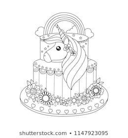 Los Mas Lindos Dibujos De Unicornios Para Colorear Y Pintar A Todo Color Imagenes Unicorn Coloring Pages Birthday Coloring Pages Free Printable Coloring Pages