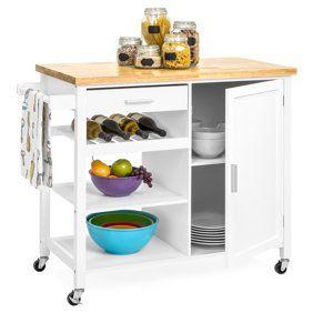 Mainstays Kitchen Island Cart White Walmart Com Kitchen Island Storage Portable Kitchen Island Mobile Kitchen Island