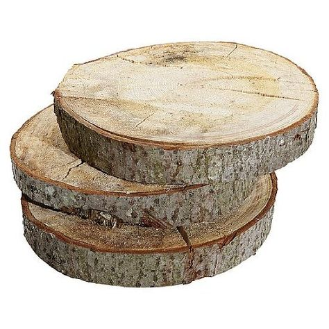 Deko-Woerner Holzscheibe 5cm stark,40cmØ: Amazon.de: Küche & Haushalt