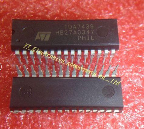 Free shipping 5pcs/lot TDA7439 7439 Digital audio processor