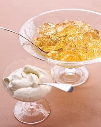 Champagne Gelatin - Sparkling Wedding Ideas