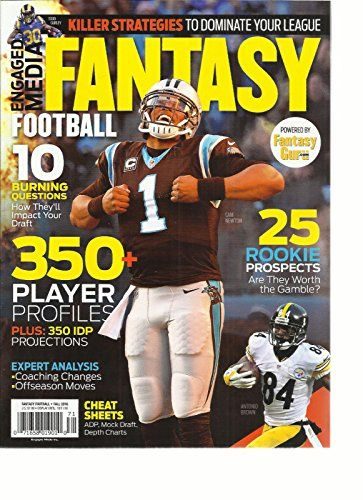 Engaged Media Inc Presents Fantasy Football 2016 Football Draft