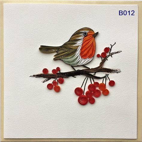 Bird and Flower Cards/B003 B004 B009 B012 B013