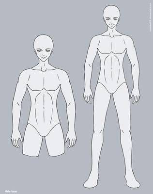 Pin By Ashgard Channel On Poses And Bases Anime Male Base Anime Guys Drawing Anime Bodies