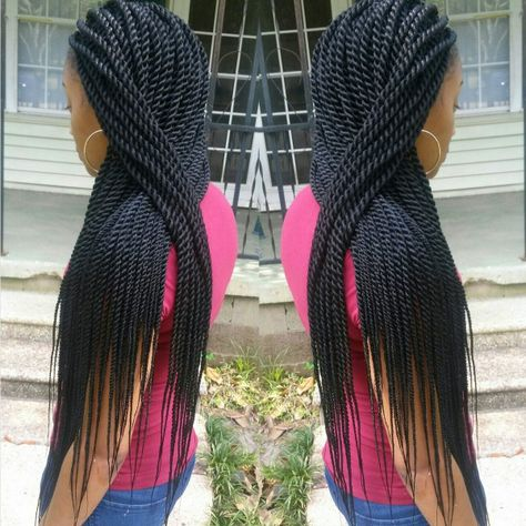 Rope Twists Shared By BRAIDSBYGUVIA - Black Hair Information Community