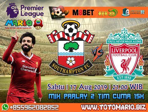 English Premier League Southampton VS Liverpool
