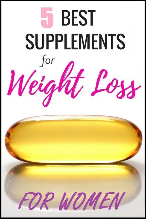 5 Best Weight Loss Supplements For Women In 2019 Women Supplements