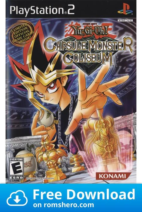 Download Yu Gi Oh Capsule Monster Coliseum Playstation 2 Ps2