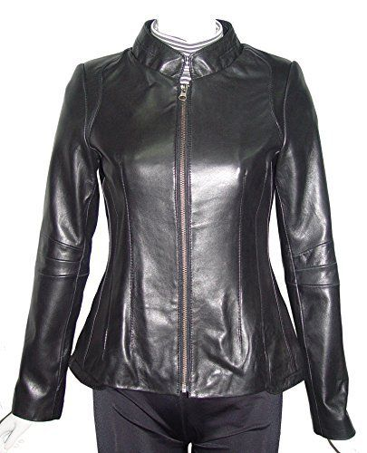 ed04838fc57f2 Product review for Paccilo Women Larger PLUS   ALL SIZE 4162 Leather  Motorcycle Jacket Silky Lining. - Lambskin