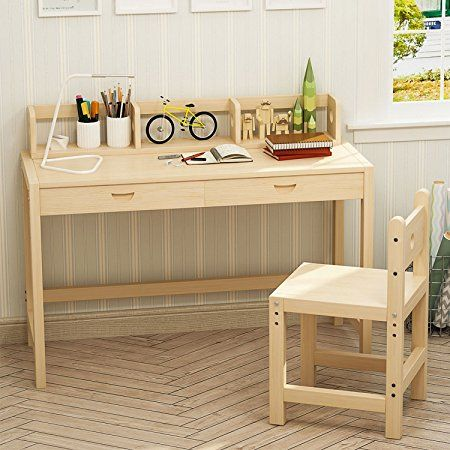 Small Unfinished Wood Desk