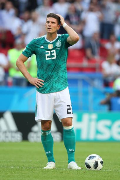 Mario Gomez Of Germany Looks Dejected During The 2018 Fifa World Cup Russia Group F Match Between Korea Republic And Germany At Mario Gomez Fifa Fifa World Cup