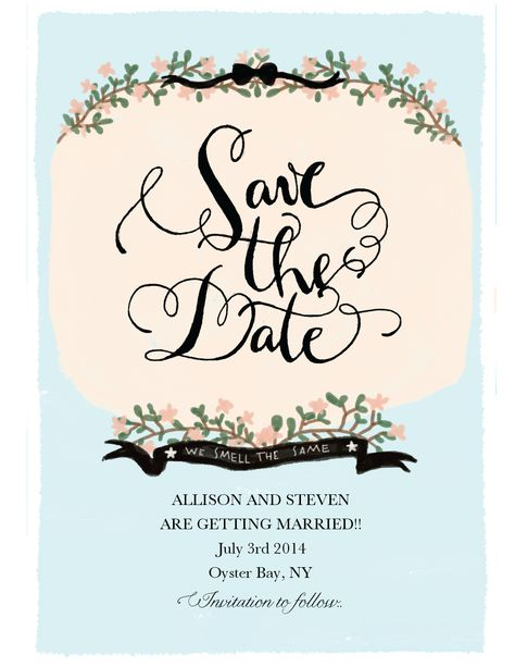 Save the date 2?