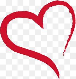 Heart Clipart Red Ink Heart Brush Ps Heart Brush Heart Brush