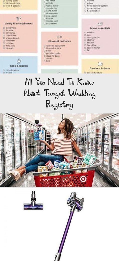 All You Need To Know About Target Wedding Registry In 2020 Wedding Registry Checklist Wedding Registry