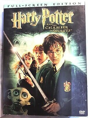Harry Potter And The Chamber Of Secrets Full Screen Edition Dvd Excellent 85392445721 Ebay In 2020 Chamber Of Secrets Harry Potter Potter