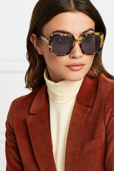 OVERSIZED Upscale LUXURY Fashion RETRO Style SUNGLASSES Huge Tortoise Gold Frame