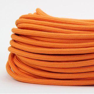 Textilkabel Stoffkabel Orange 3 Adrig 3x0 75 Zug Pendelleitung S03rt F 3g0 75 Textilkabel Stoff Textil