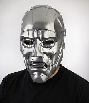 Dr Doom Mask Ad Dr Doom Mask In 2021 Mask Doom Horror Masks