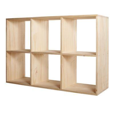 Etagere Modulable 6 Cases Pin Mixxit Castorama Home Decor Shelving Unit Furniture Design
