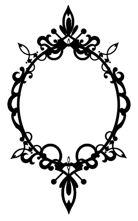 """SEE my """"FOLLOW """" BOARDS for many more Frames O97 Ornate Oval Frame Cutout02 by ~Tigers-stock on deviantART"""