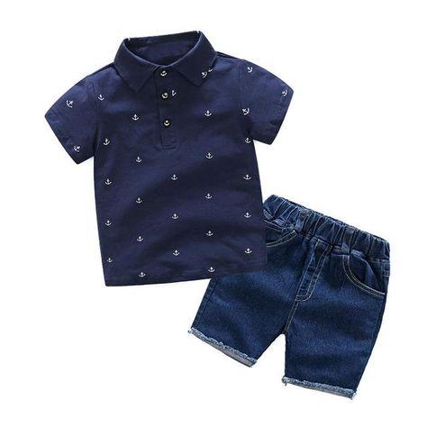 Summer Boys Clothing Sets, 2 PC