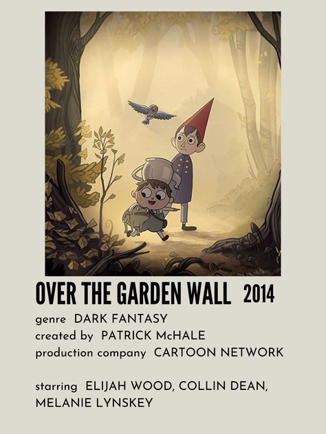 Over the Garden Wall Movie Poster