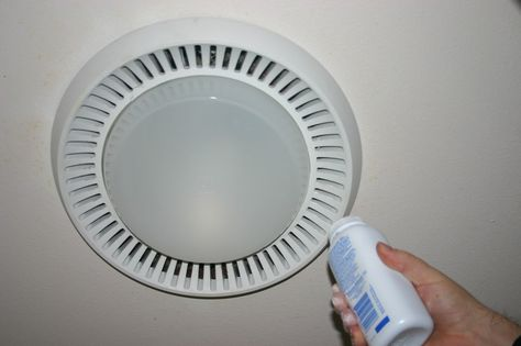 Installation Of The Bathroom Fan With Light Exhaust