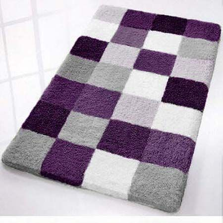 Purple Bathroom Rugs For Guest Bathroom Bathroomdiysmallspaces