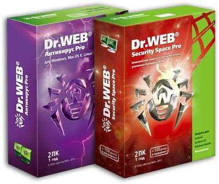 Dr Web AntiVirus Security Space Life License, Dr.Web Anti-Virus and antivirus and security is separate from the Russians next most powerful antivirus