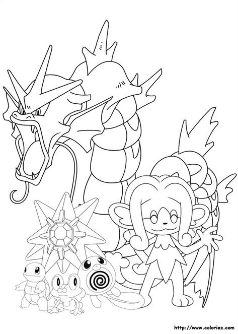Pokemon De Type Eau Pokemonsoleil