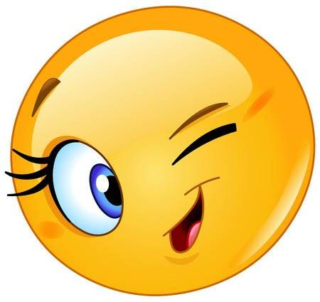 Female Emoticon Winking Funny Emoticons Emoticons Emojis Winking Emoji
