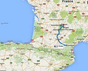 Mapa Sur De Francia Ciudades.Ruta En Coche Por Los Pueblos Mas Bonitos Del Sur De Francia
