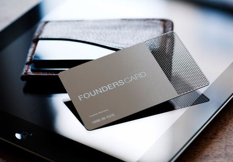 Founderscard The Black Card For Entrepreneurs And
