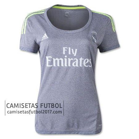9a246870e2697 Segunda camiseta de Mujer Real Madrid 2015 2016