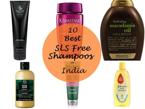 10 Best SLS Free Shampoos Available in India. Everyone knows the damage sodium lauryl sulfate does to hair so I decided to go silicone free in my shampoos