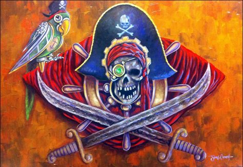 Steampunk Tendencies | JimCrouch-mechanical-kingdoms-pirates