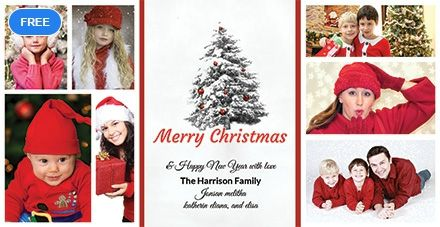 Make Your Memories Last Forever With The Free Christmas Holiday Snowflake P Holiday Photo Cards Template Christmas Holiday Photo Cards Christmas Holiday Photos