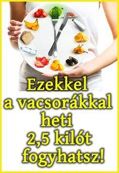 heti diéta fogyókúra táblák