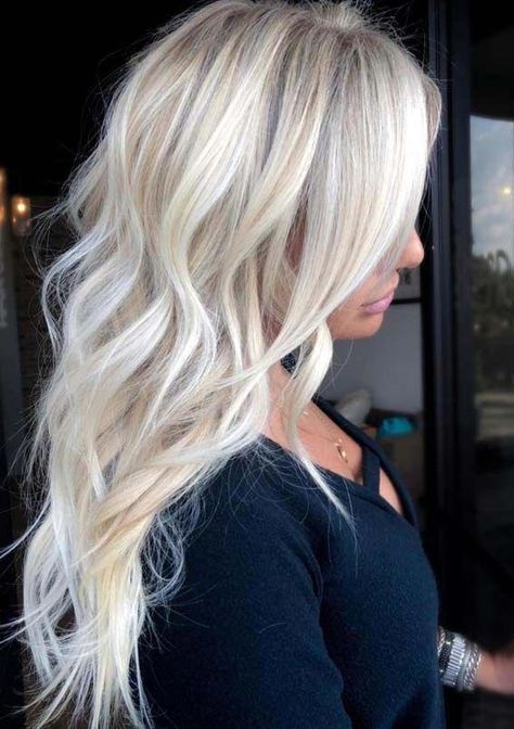 Incredible Ice Blonde Hair Color Ideas in 2018 #Yeswecan