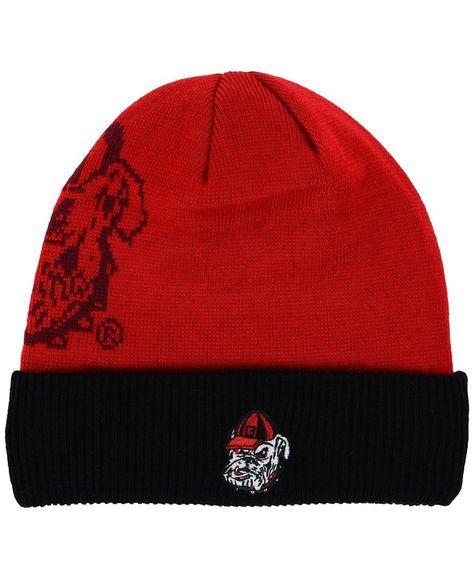 Top of the World Georgia Bulldogs Shadow Knit Hat  d7aaa961c2c