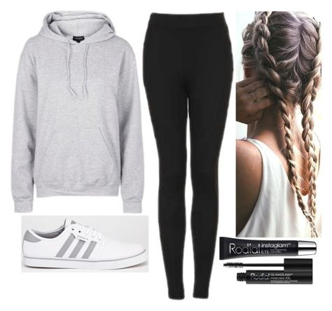"""""""Untitled #6040"""" by kimboloveniallhoran ❤ liked on Polyvore featuring Topshop, adidas and Rodial"""