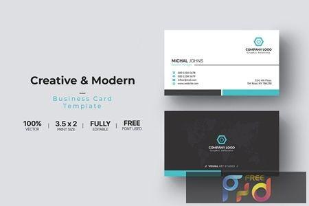 Business Card Du5ag3y Freepsdvn Modern Business Cards Business Card Template Cards