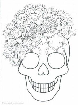 Dibujos para colorear el día de los muertos (5)