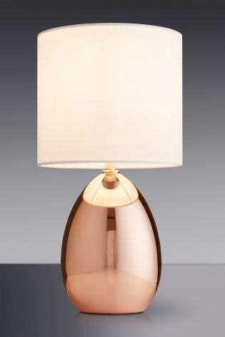 Rosendale Wide Table Lamp | Smoked