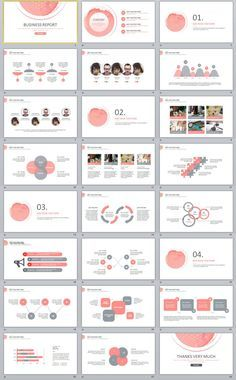 24+ red black business report PowerPoint templates
