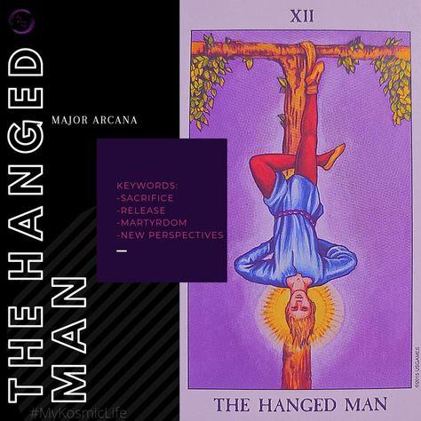 🤯 #HangedMan #TheHangedMan #TheHangedManCard #LearnTarot #Tarot #TarotCards #TarotCommunity #Tarotmessages #MyKosmicLife
