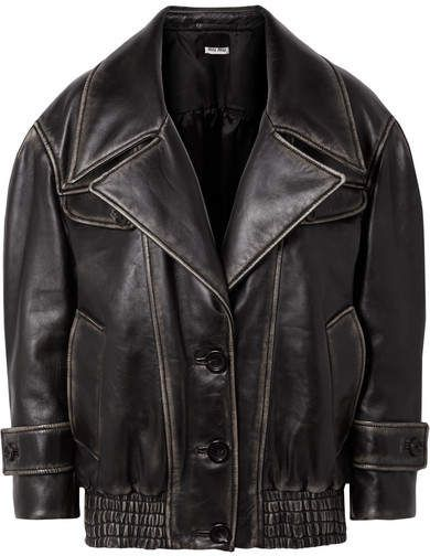 cd2531d77 Oversized Leather Jacket - Black #oversized#leather#inspired ...