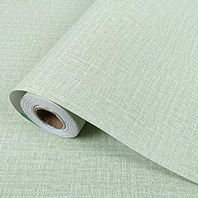 Amazon Com Yancorp Faux Grasscloth Peel Stick Wallpaper Fabric Self Adhesive Contact Paper Linen Remova Contact Paper Wall Peel And Stick Wallpaper Grasscloth