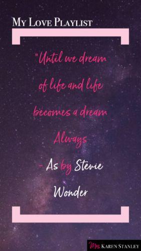 My Love Playlist - As - Stevie Wonder