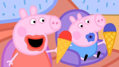 Peppa Pig Il Compleanno Di Natale.Peppa Pig Italiano L Arcobaleno Collezione Italiano Cartoni